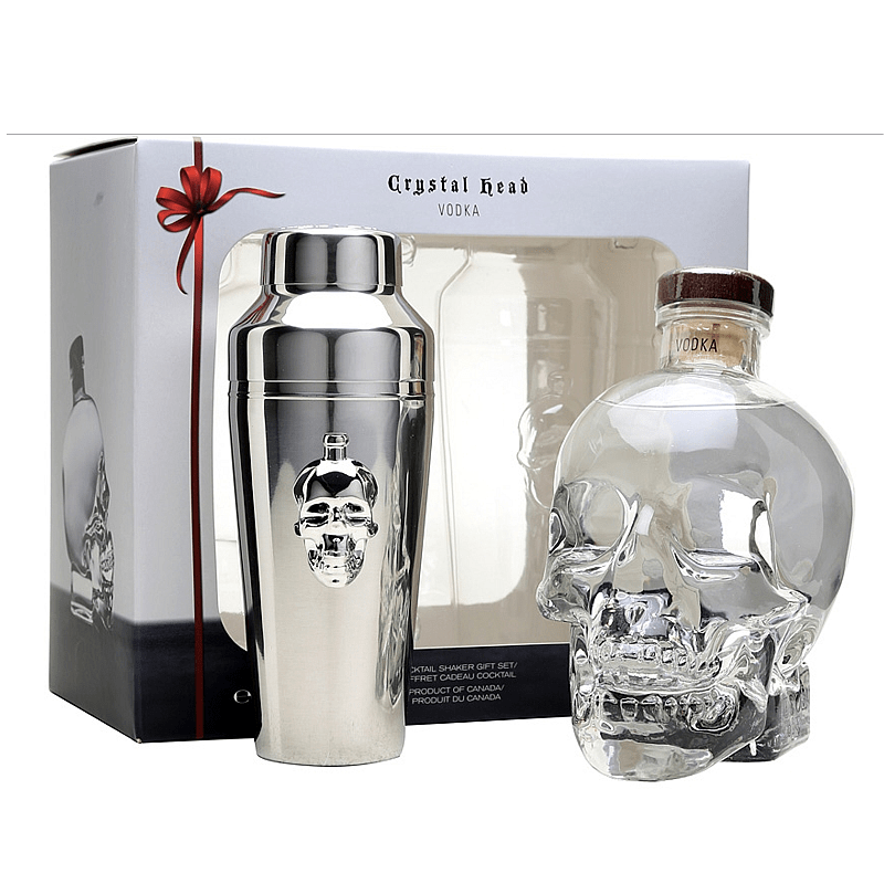 Crystal Head Vodka Gift Pack With Shaker
