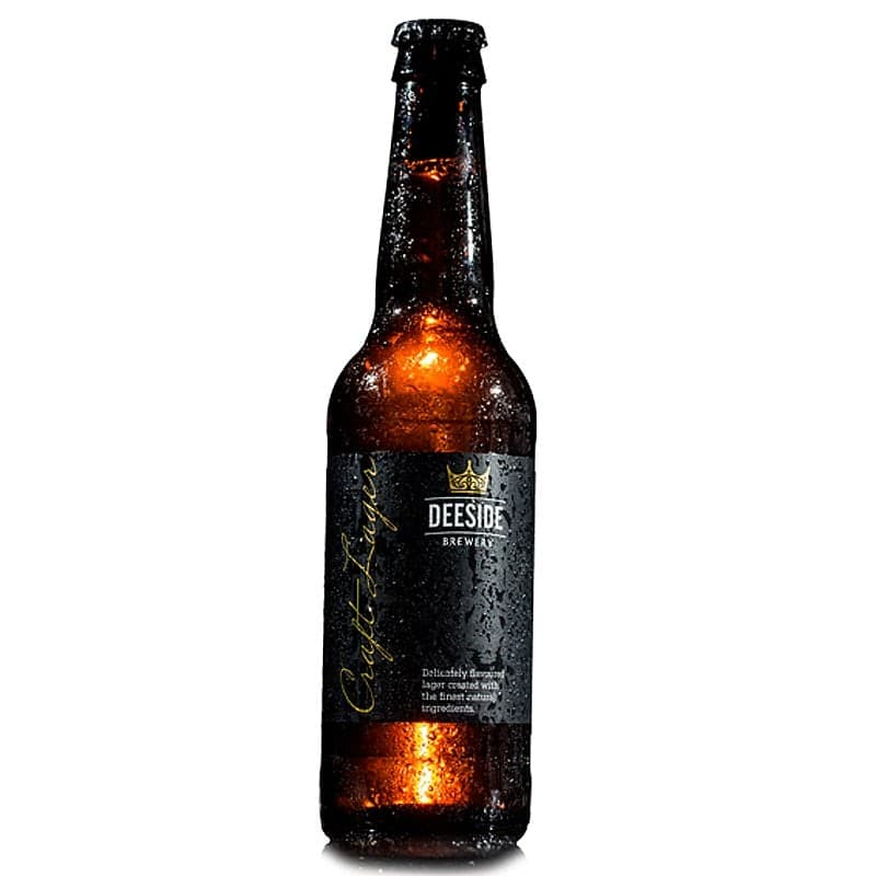 Deeside Craft Lager by Deeside Brewery