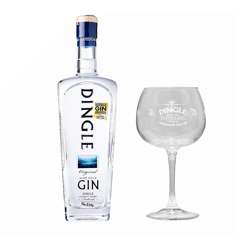 Dingle Gin & Glass Set