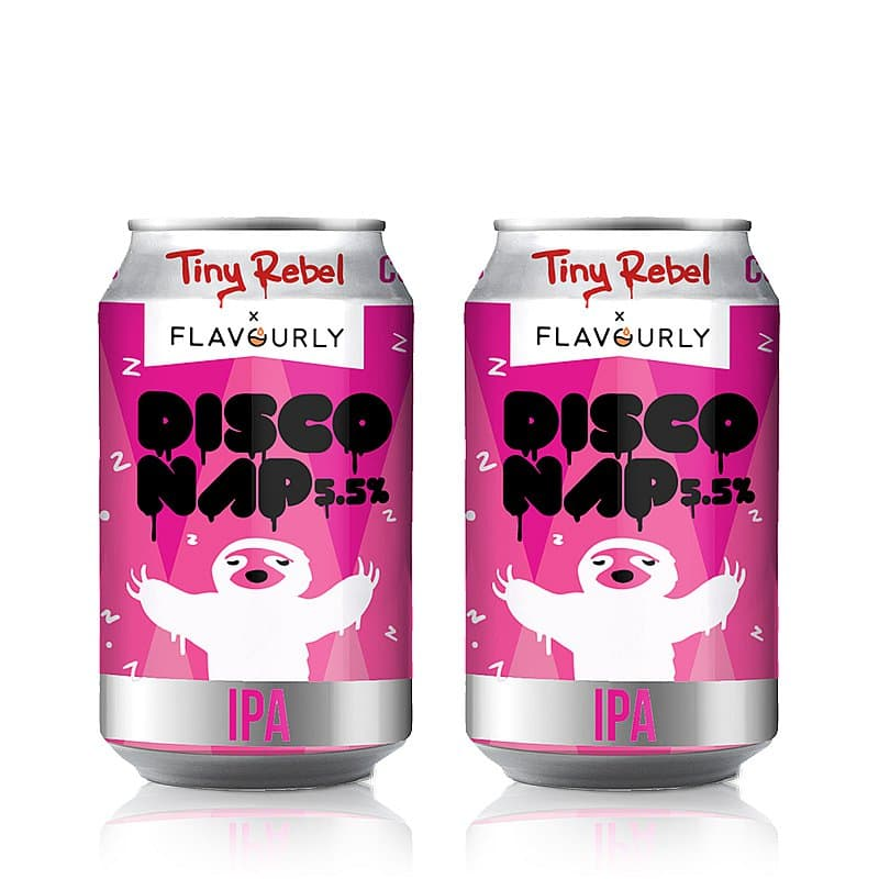 Disco Nap Twin Pack by Tiny Rebel x Flavourly