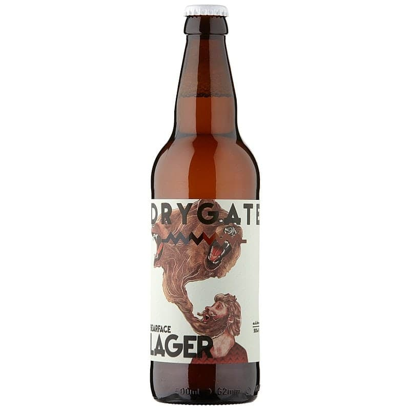 Drygate Bearface Lager by Drygate