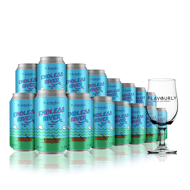 The Endless River Collection with Glass - Large by Flavourly