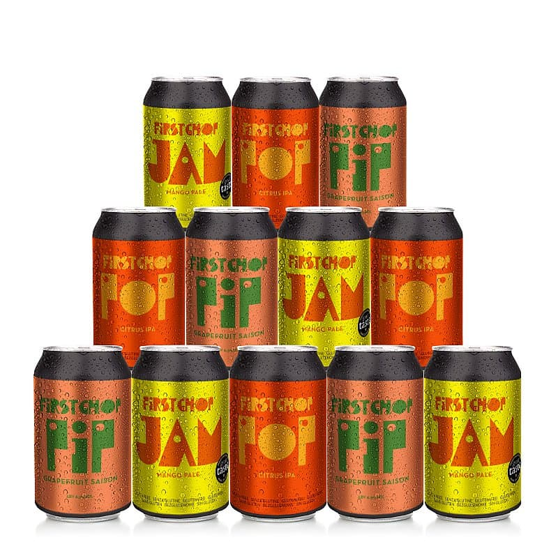 Fruit Mixed 12 Case by First Chop Brewing Arm