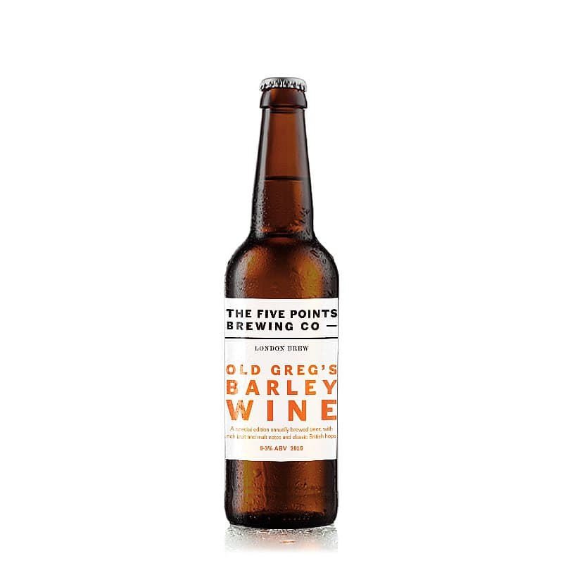 Old Greg's Barley Wine by Five Points Brewing Co