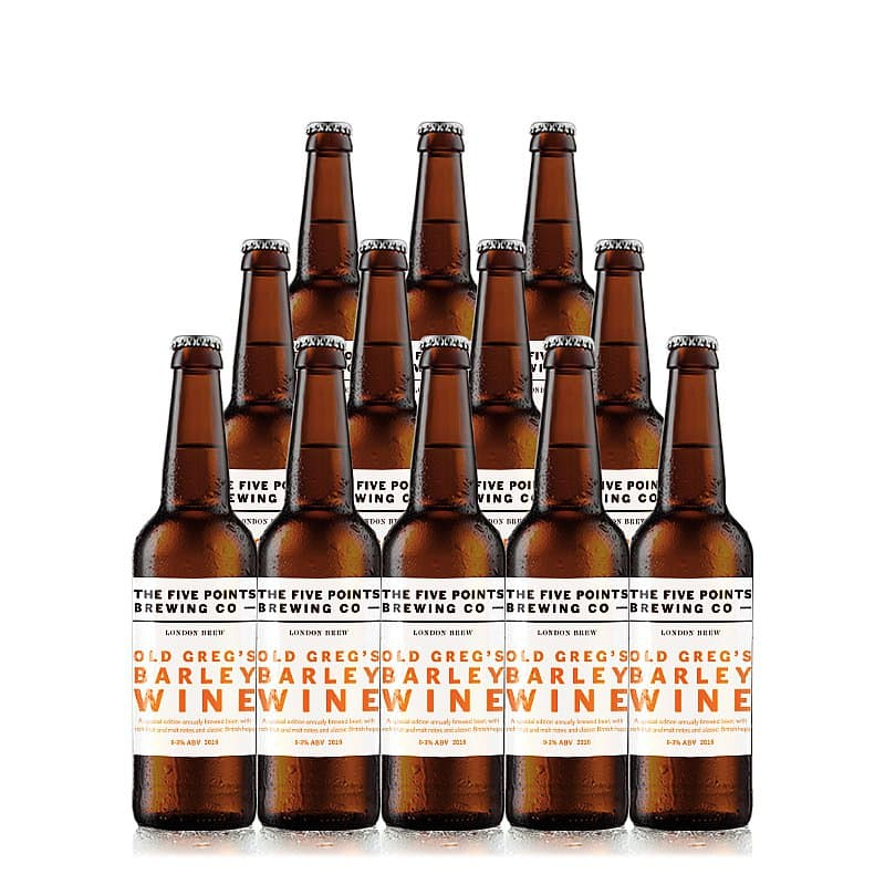 Old Greg's Barley Wine 12 Case by Five Points Brewing Co