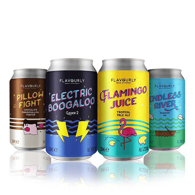 The Flavourly Collection 4-Pack by Flavourly