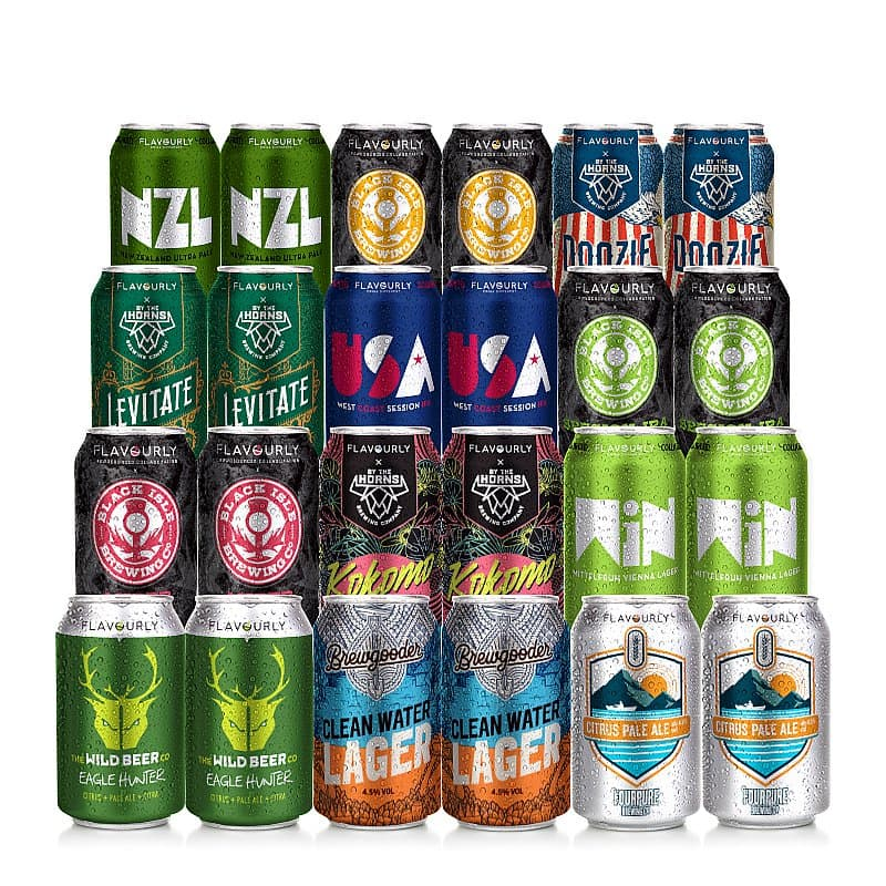 Double Dozen 24 Mixed Case by Flavourly Collaboration Cases