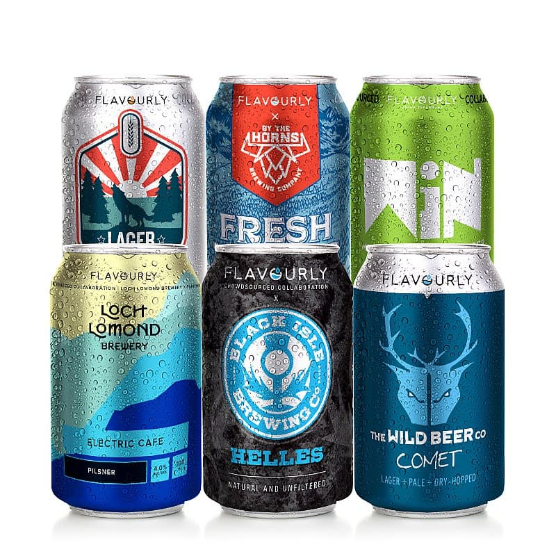Lager 6 Case by Flavourly Collaboration Cases