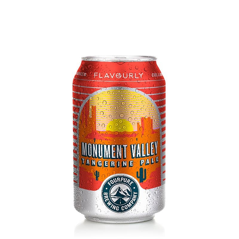 Monument Valley Tangerine Pale by Fourpure x Flavourly