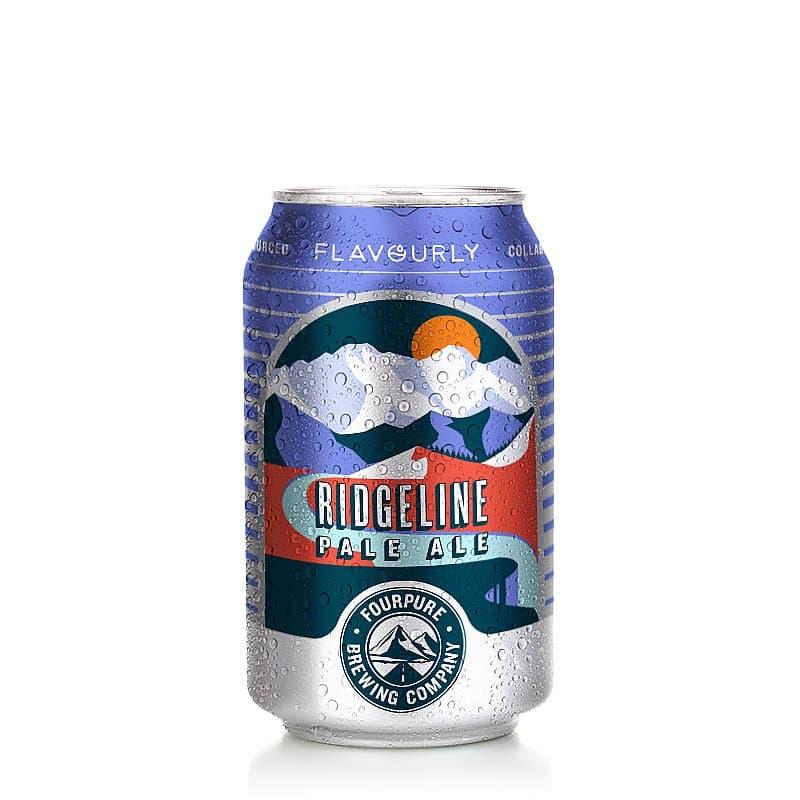 Ridgeline Pale Ale by Fourpure x Flavourly