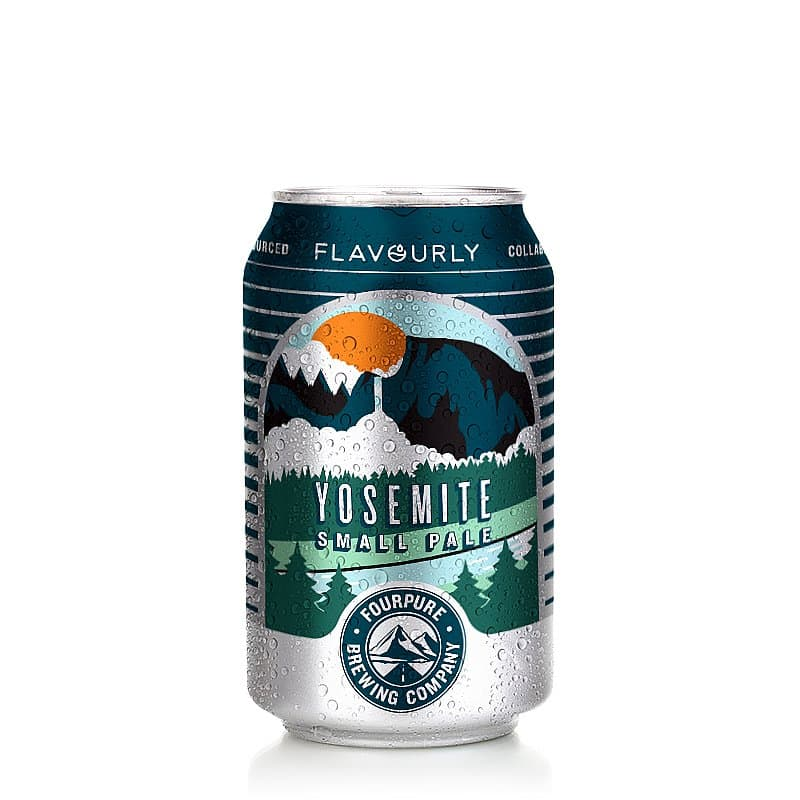 Yosemite Small Pale by Fourpure x Flavourly