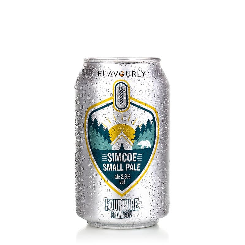 Simcoe Small Pale by Fourpure x Flavourly