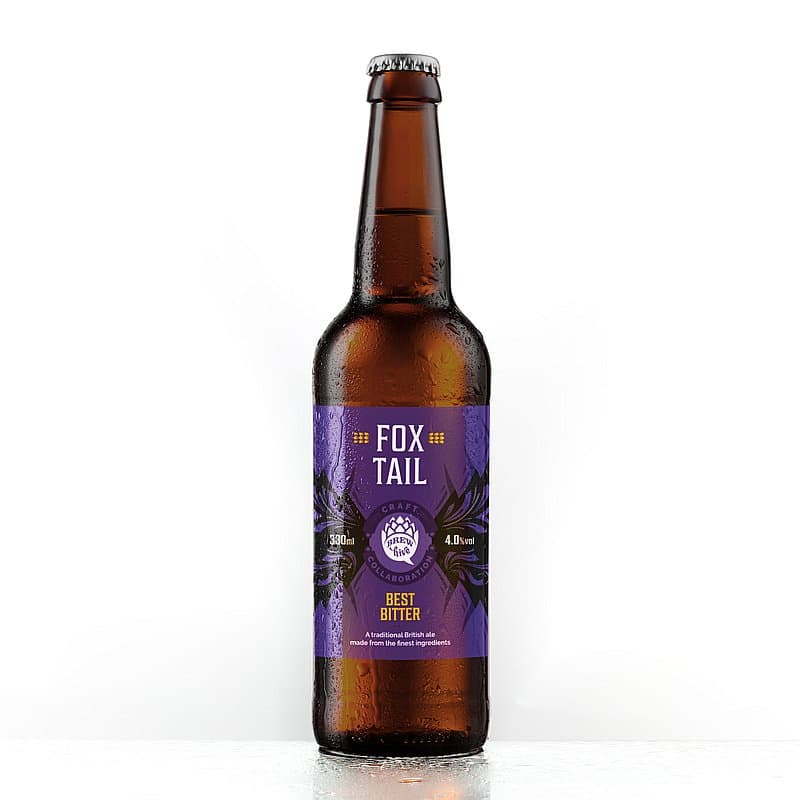 Fox Tail Best Bitter by Brewhive X Hilden