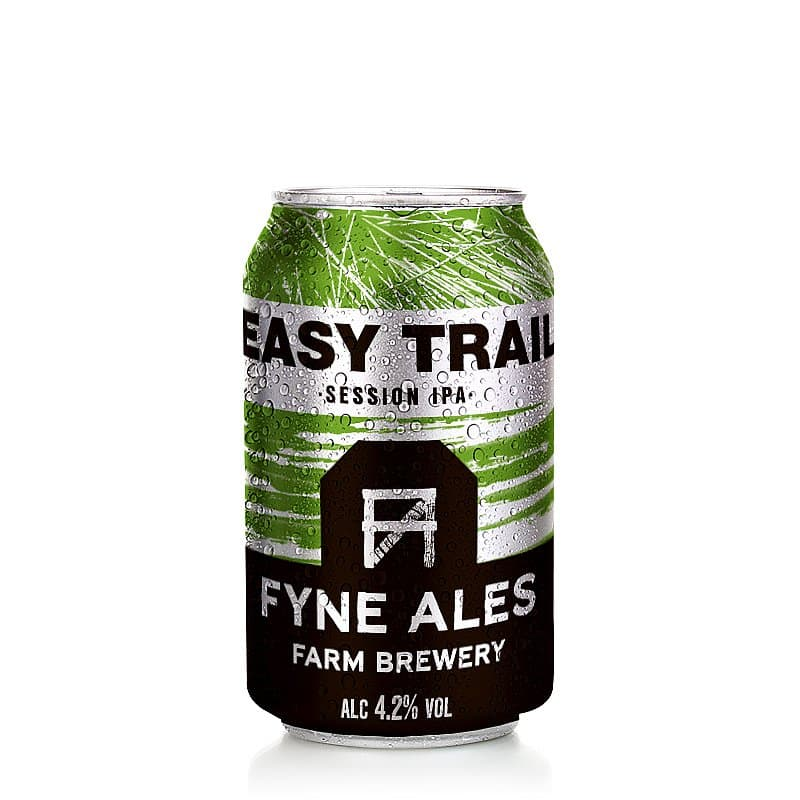 Easy Trail Session IPA by Fyne Ales