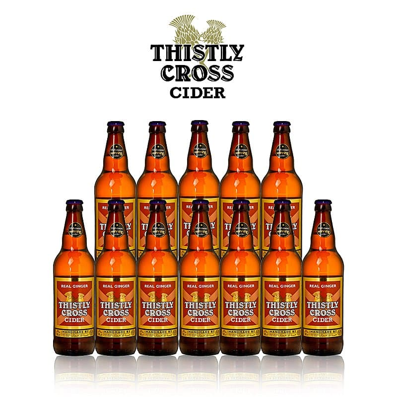 Ginger Cider 12 Case by Thistly Cross