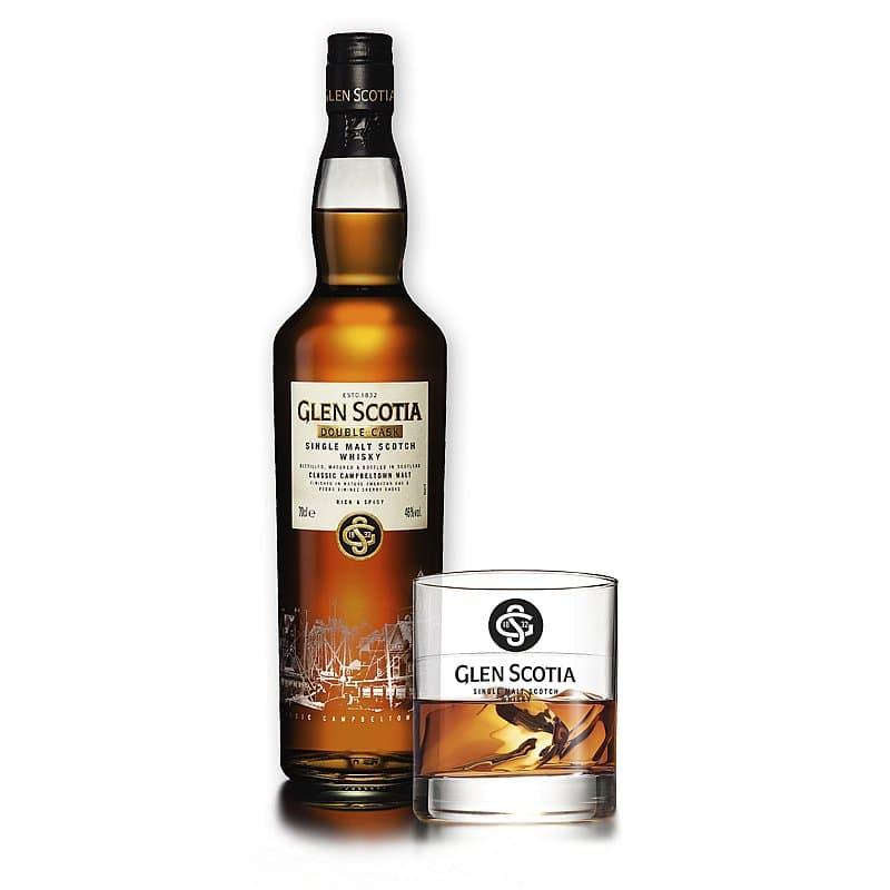 Glen Scotia Double Cask + FREE Glen Scotia Tumbler by Glen Scotia