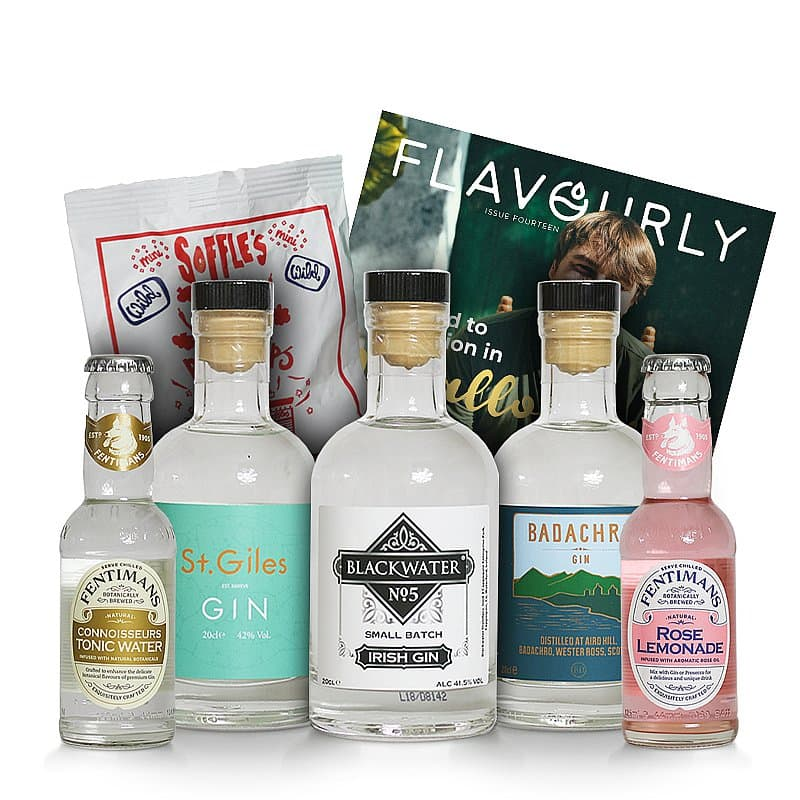 Gin & Tonic Mystery Selection by Flavourly Gin