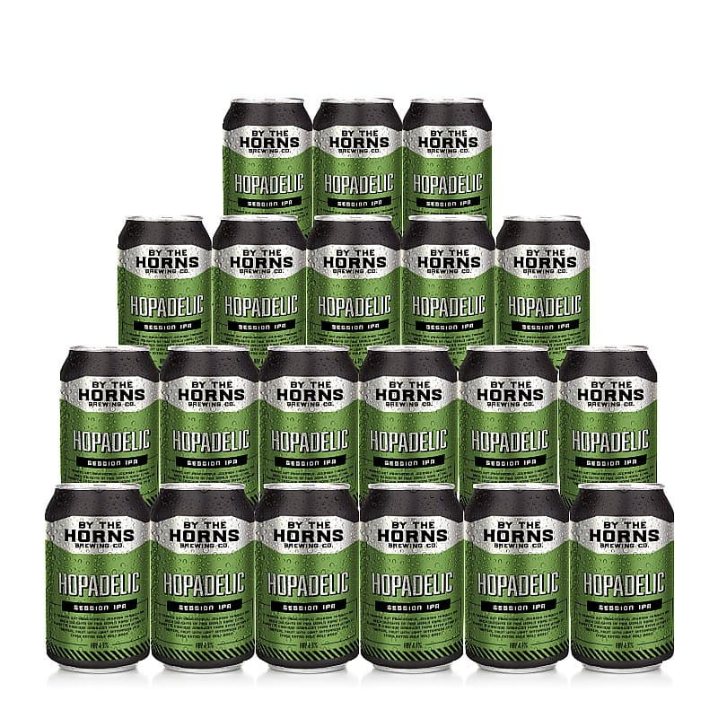 Hopadelic 20 Case by By the Horns Brewing