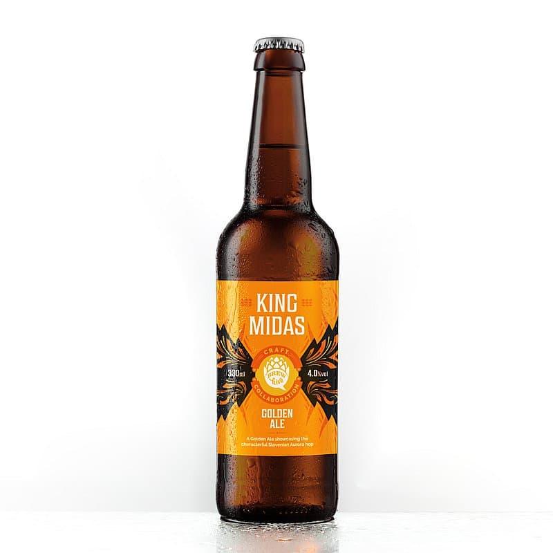 King Midas Golden Ale by Brewhive X Hilden