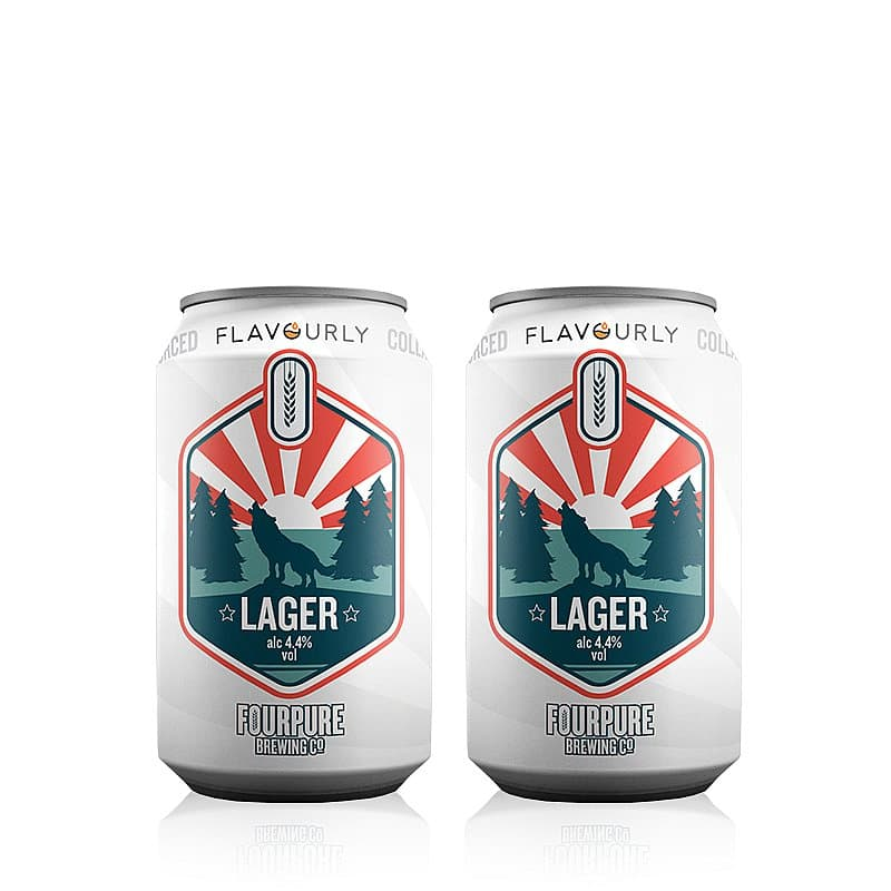 Lager Twin Pack by Fourpure x Flavourly