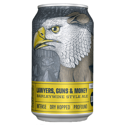 Lawyers Guns Money Barley Wine by Crazy Mountain Brewing Co.