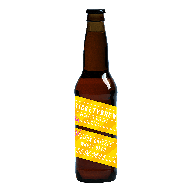 Lemon Drizzle Wheat Beer by Ticketybrew