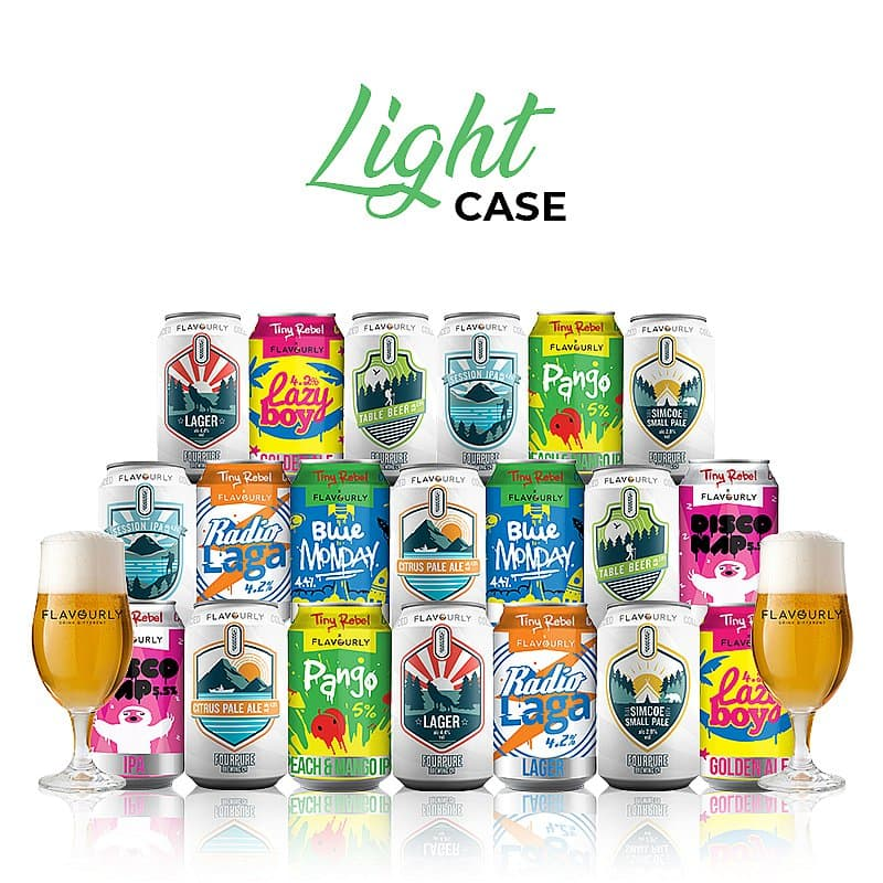 Light Mixed 20 Case by Flavourly