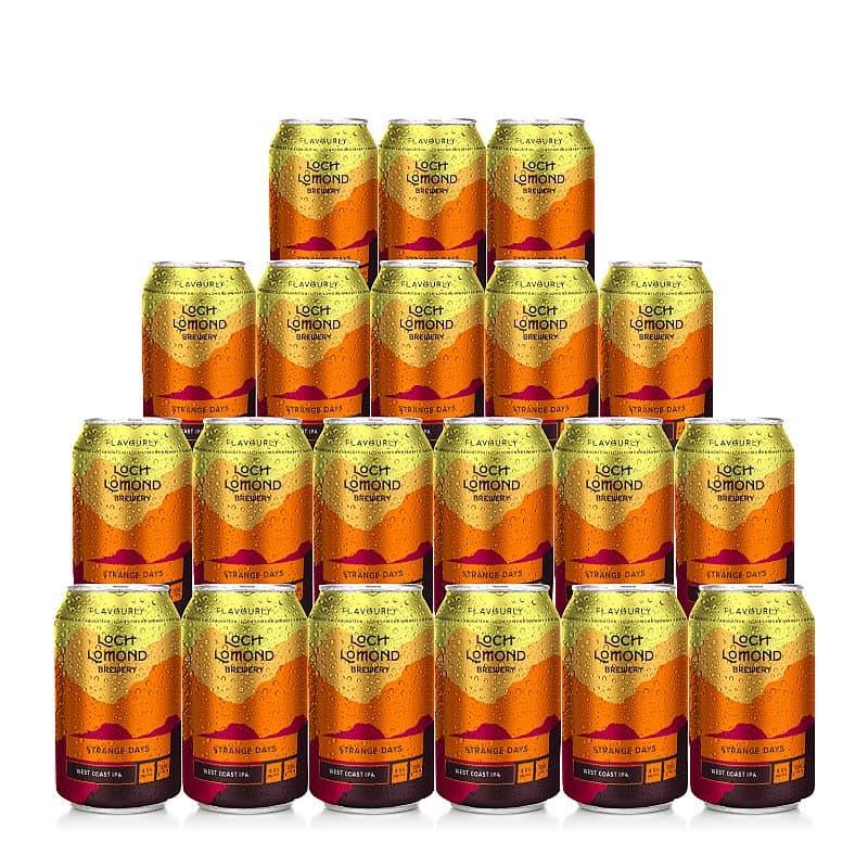 Strange Days 20 Case by Loch Lomond Brewery x Flavourly