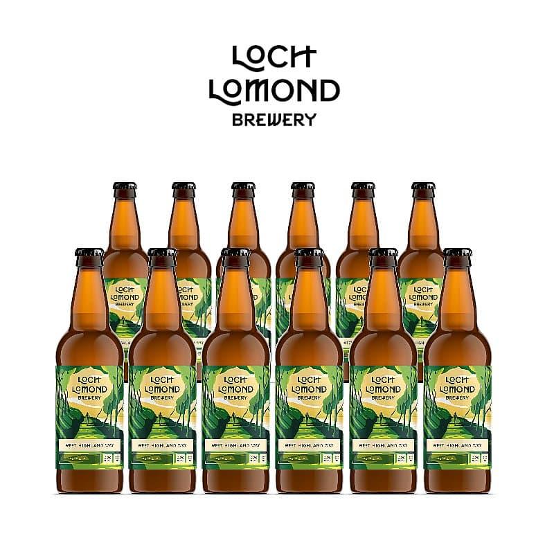 West Highland Way 12 Case by Loch Lomond Brewery