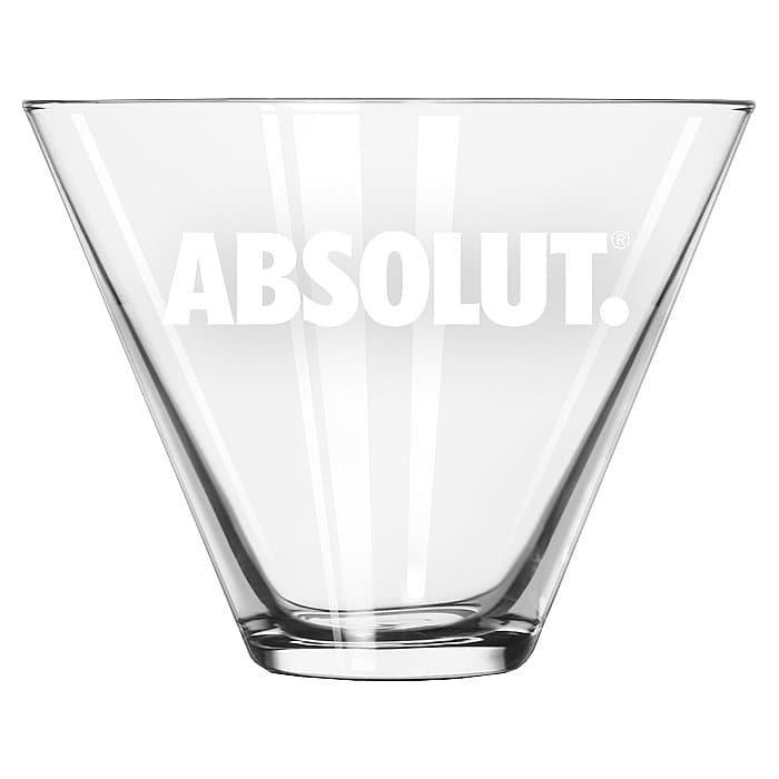 Absolut Martini Glass