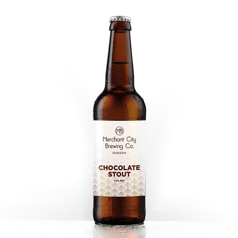 Merchant City Chocolate Stout by Merchant City Brewing