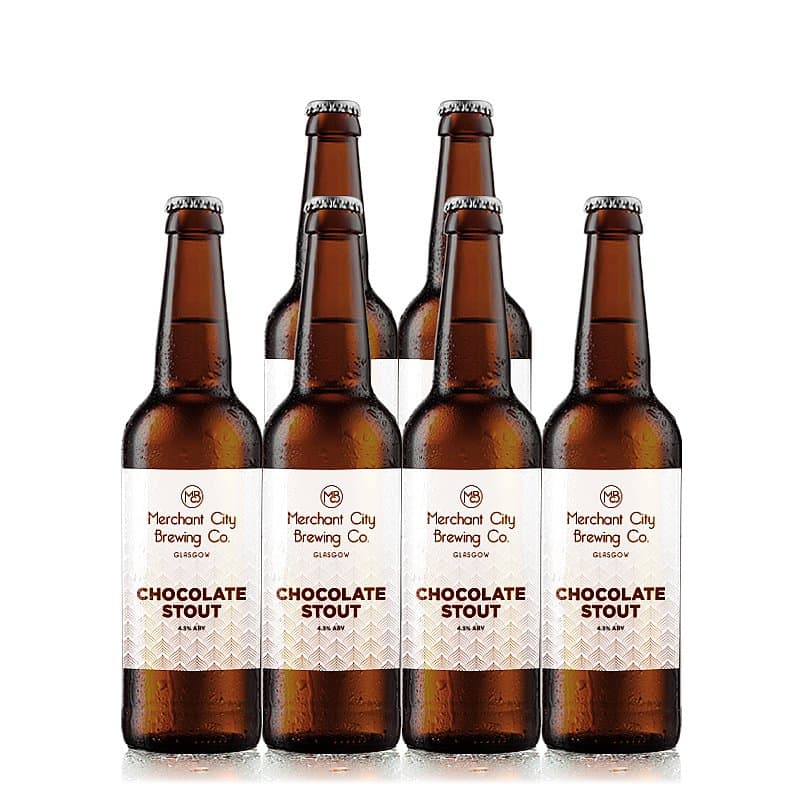 Chocolate Stout 6 Case by Merchant City Brewing