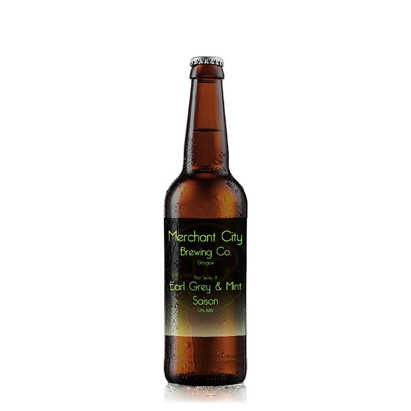 Earl Grey & Mint Saison by Merchant City Brewing