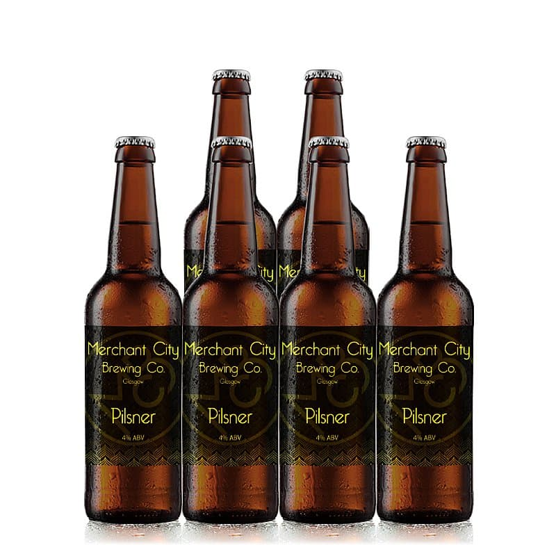 Pilsner 6 Case by Merchant City Brewing