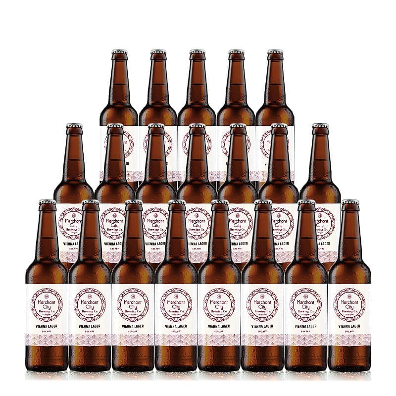 Vienna Lager 20 Case by Merchant City Brewing
