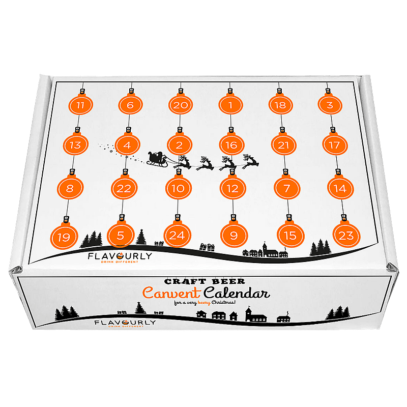 Craft Beer Canvent Calendar by Flavourly