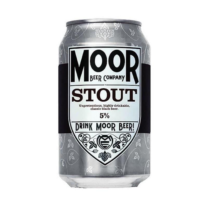 Moor Stout by Moor Beer