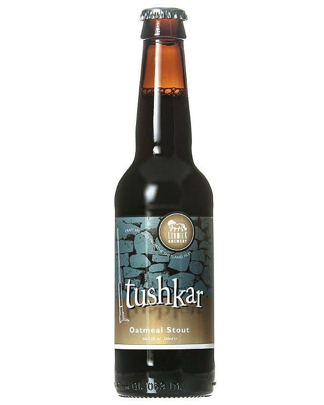 Tushkar Oatmeal Stout by Lerwick Brewery