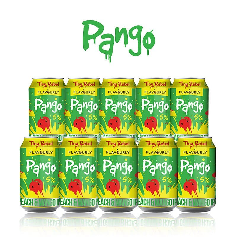Pango 10 Case by Tiny Rebel x Flavourly