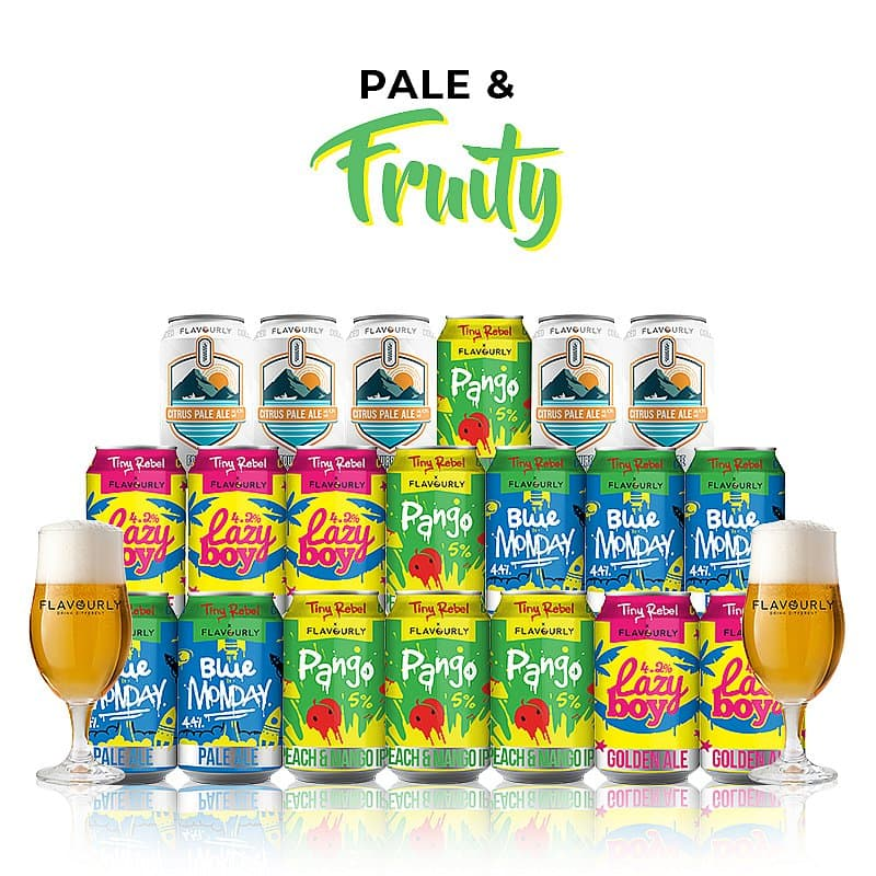 Pale & Fruity Mixed 20 Case by Flavourly