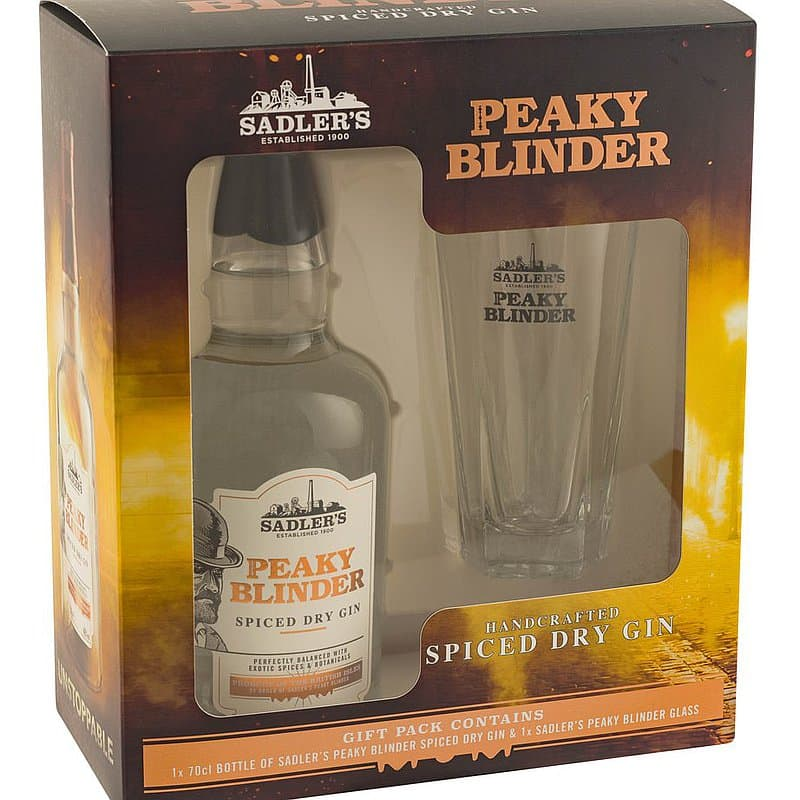 Peaky Blinder Spiced Dry Gin Gift Pack