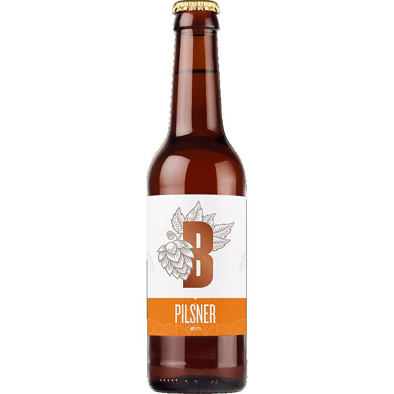 Bedlam Pilsner by Bedlam Brewery