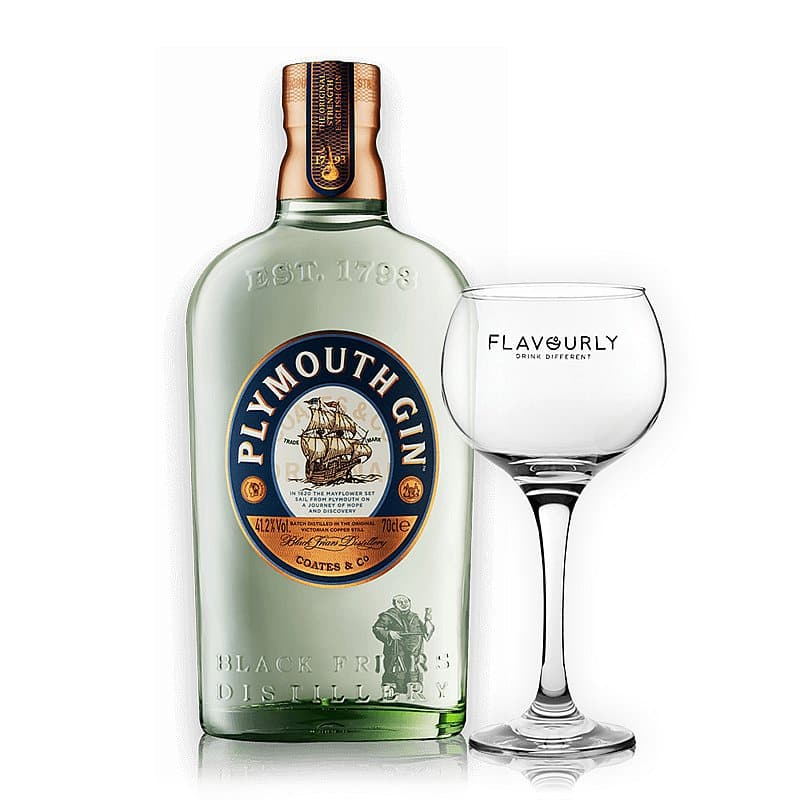 Plymouth Gin Original + Free Glass by Plymouth Gin