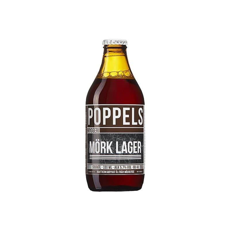 Mork Lager by Poppels Bryggeri