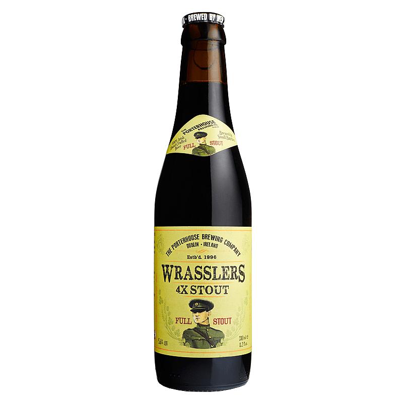 Wrasslers 4X by Porterhouse Brewing Co.