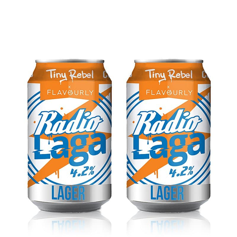 Radio Laga Twin Pack by Tiny Rebel x Flavourly