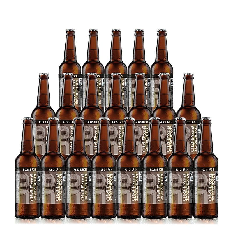 Old Ford Export Stout 20 Case by Redchurch Brewery