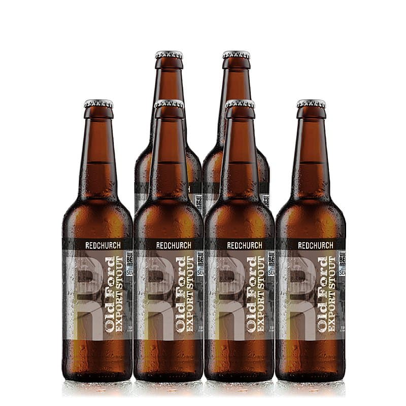 Old Ford Export Stout 6 Case by Redchurch Brewery