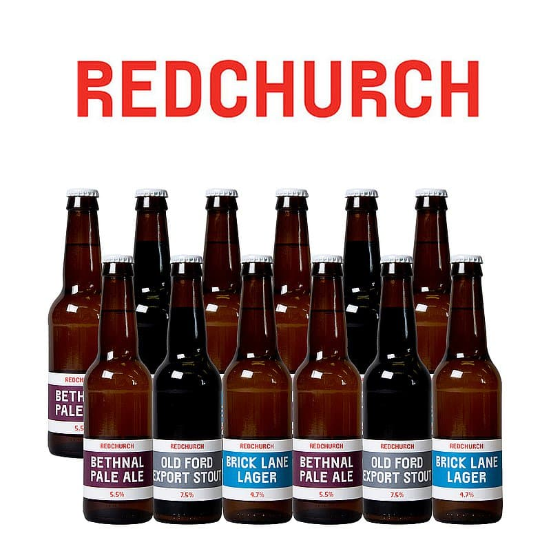 Award Winning 12 Case by Redchurch Brewery