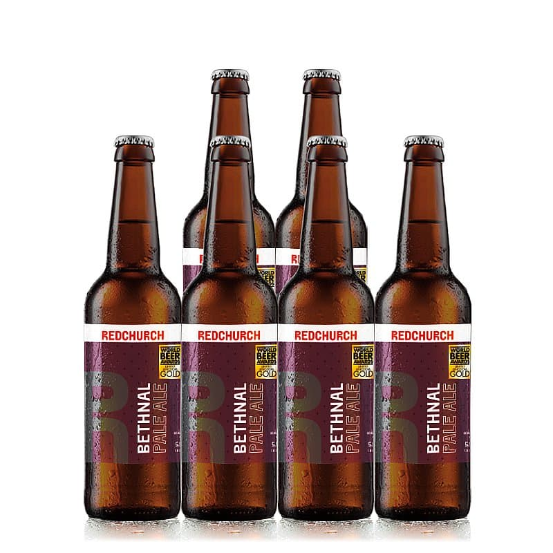 Bethnal Pale Ale 6 Case by Redchurch Brewery